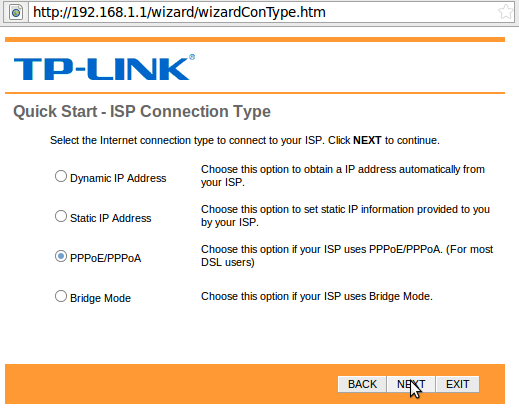 Vanilla - How to setup a TP Link W8961N Wireless router for ADSL